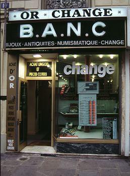 La banque et le change - Bureau de change monnaie ...
