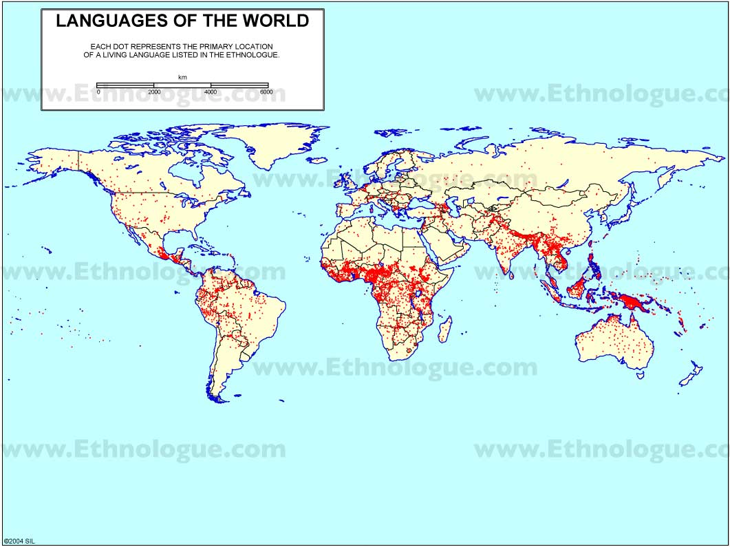 how language represents the world in The pacific accounts for only 01% of all language speakers in the world and has the lowest median number of speakers of all world 12 responses to world languages.